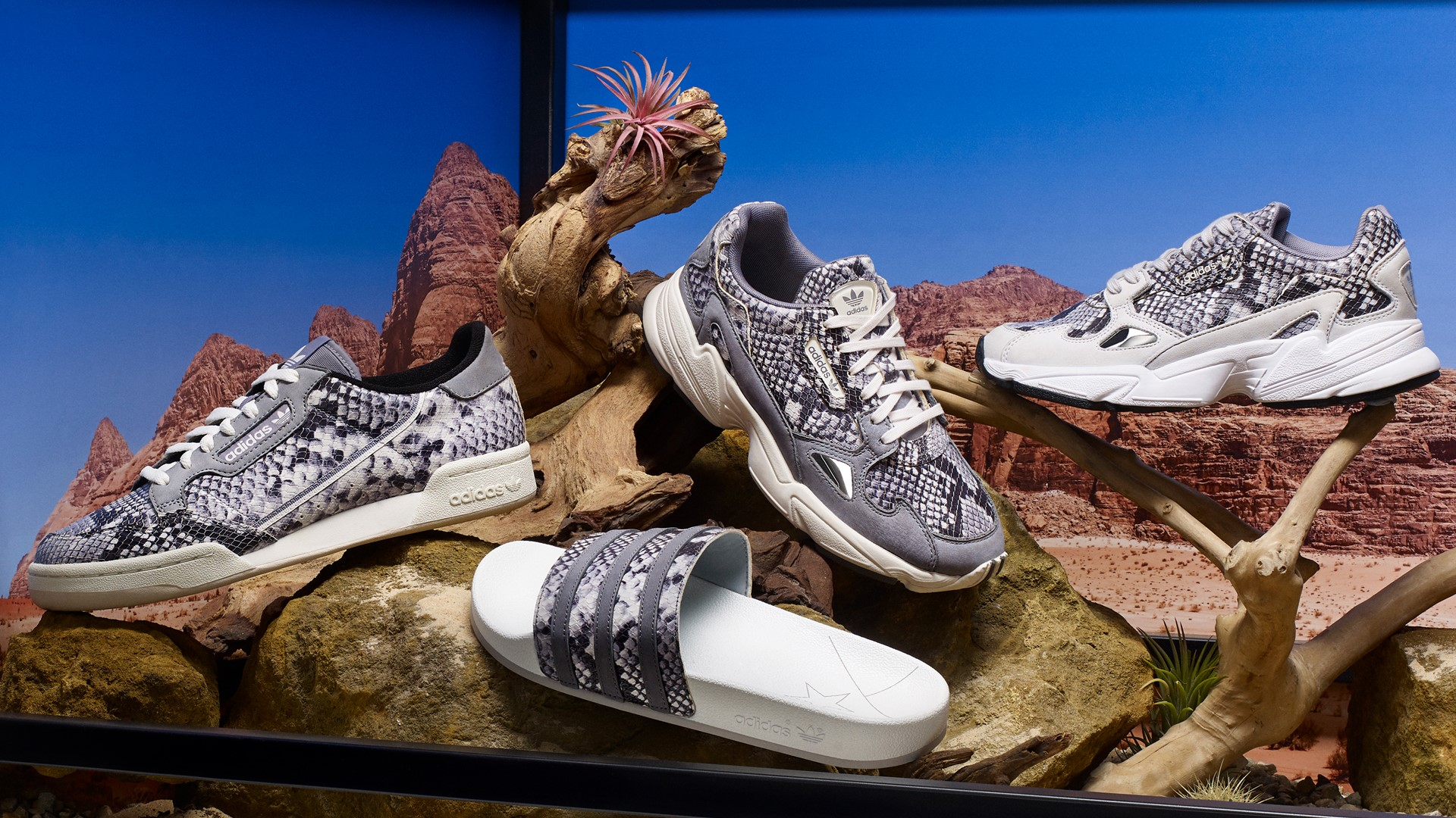 adidas Originals releases two Snakeskin packs for Fall