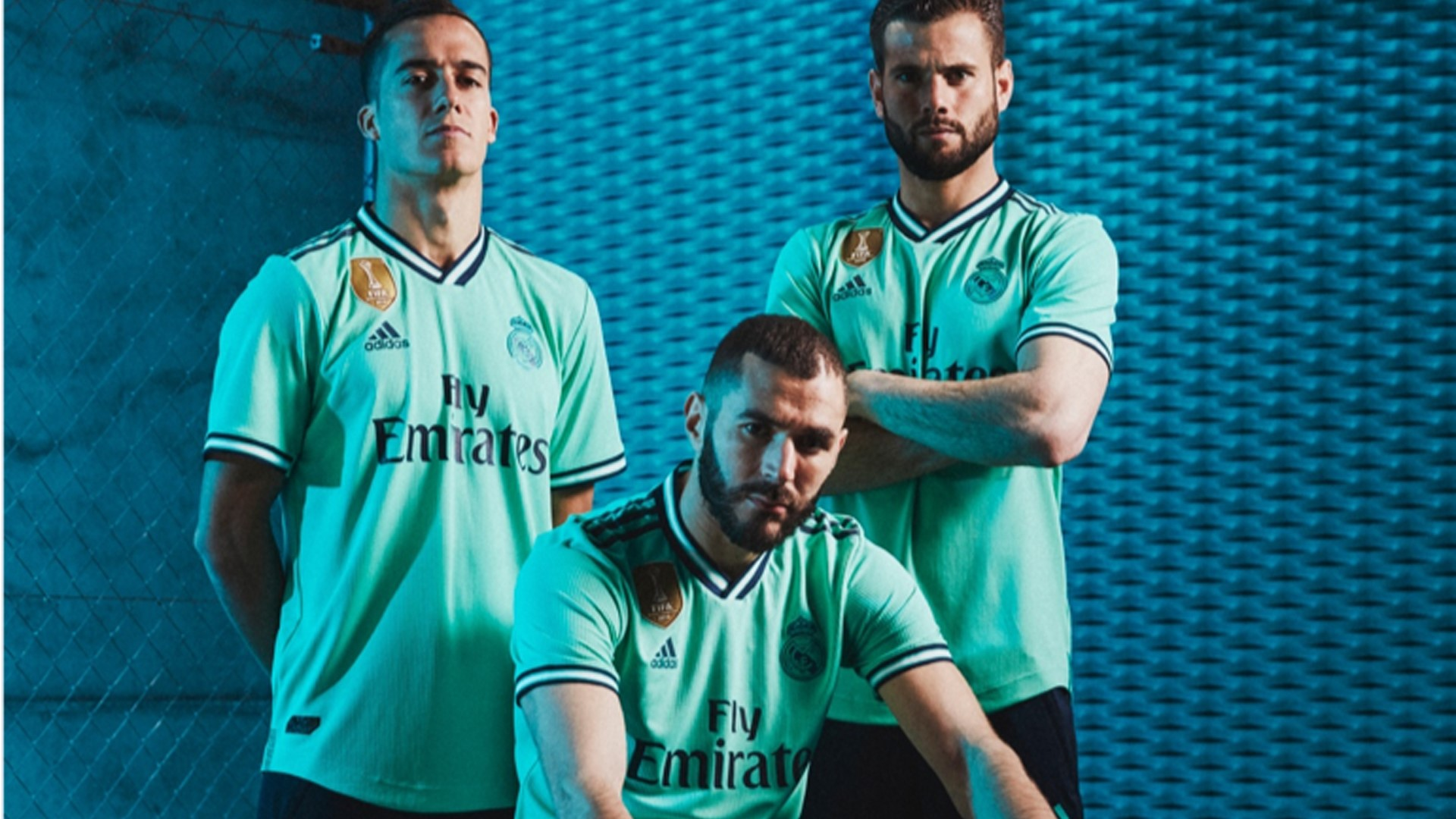 the best attitude e1db6 564a2 adidas and Real Madrid reveal third kit for 2019/20