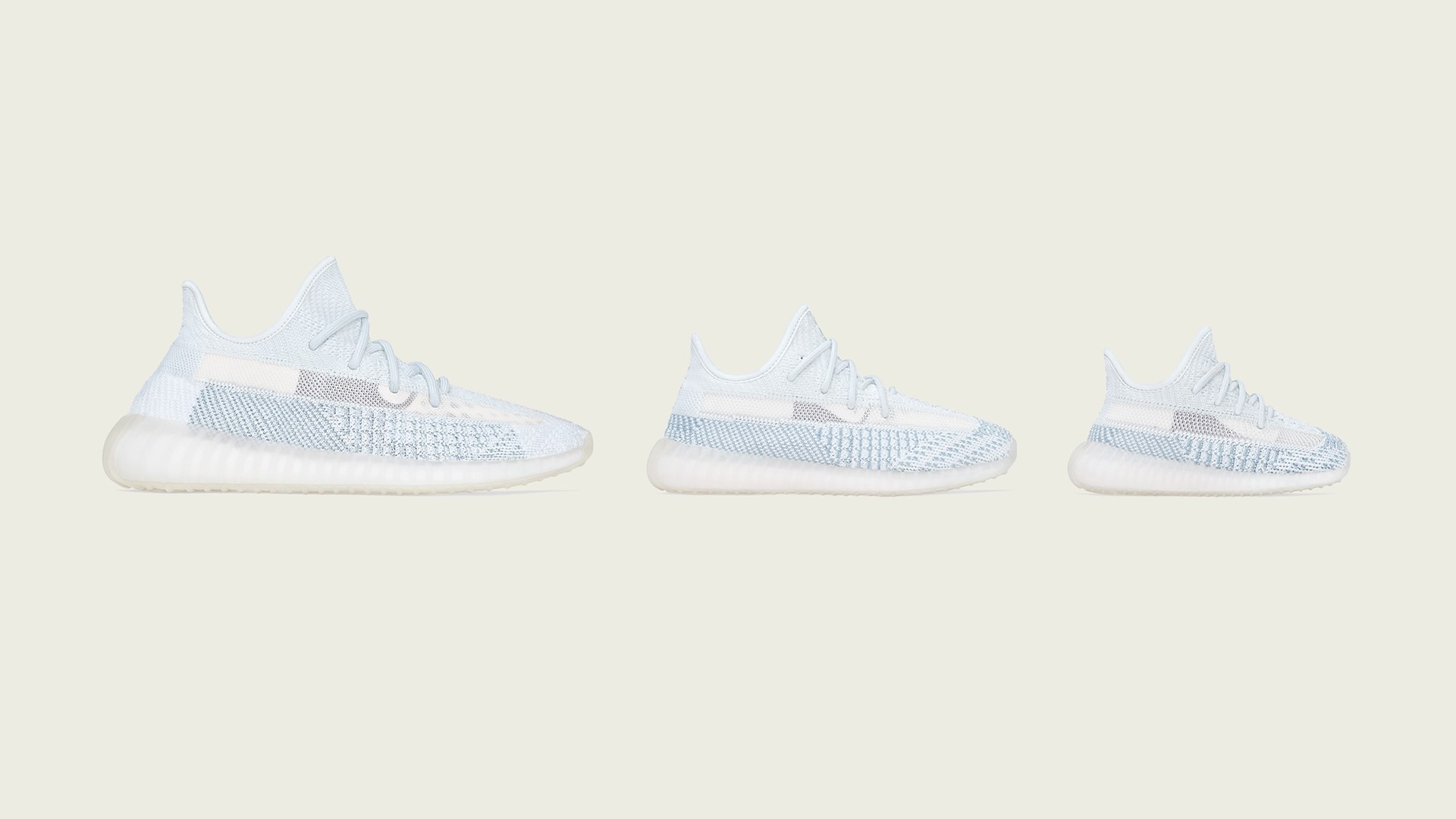 adidas + Kanye West announce the Yeezy Boost 350 v2 cloud white
