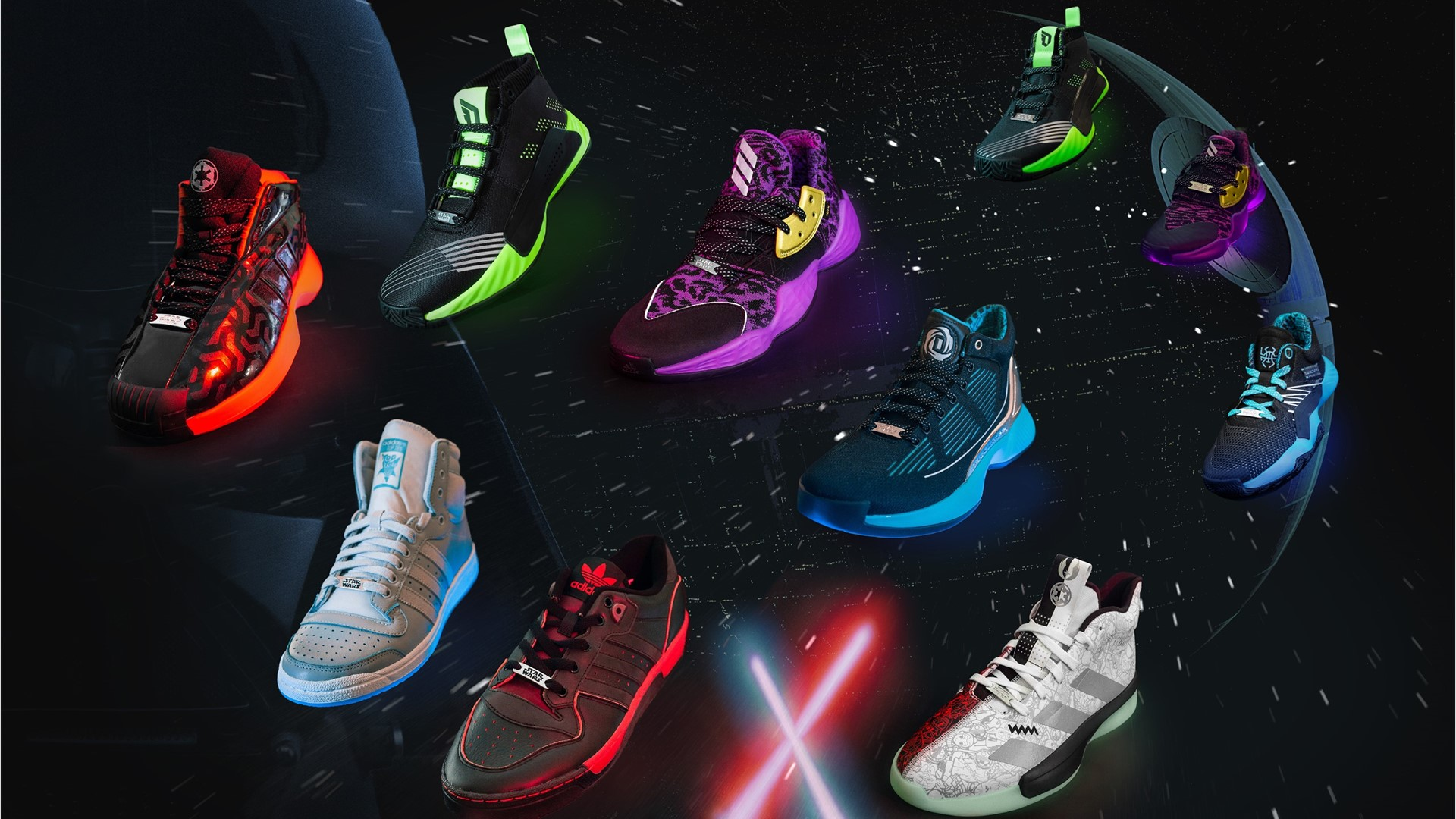 Adidas Wars™ The Star Collection Announces 2019 eIYDWEH29