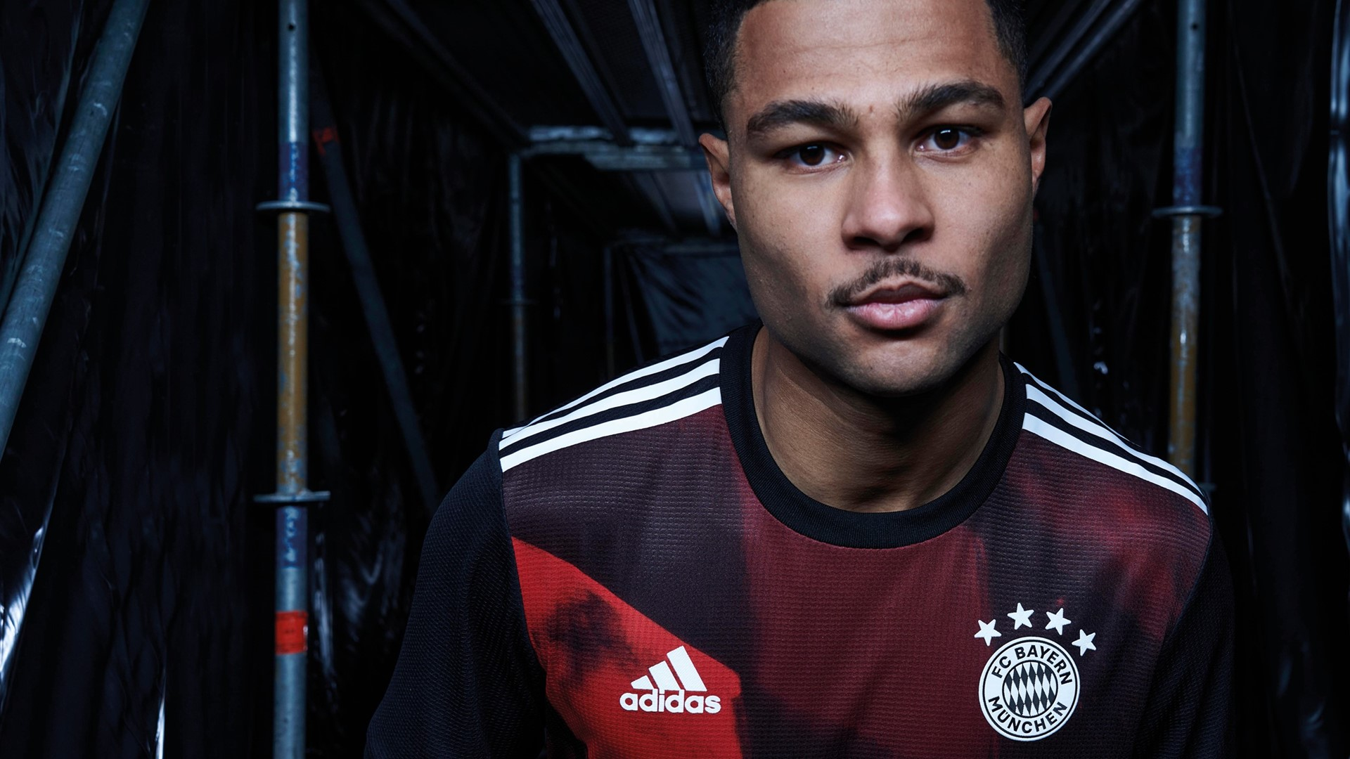 THE FC BAYERN MUNICH THIRD KIT FOR SEASON CREATED TO INSPIRE THE TEAM IN THE UEFA CHAMPIONS LEAGUE