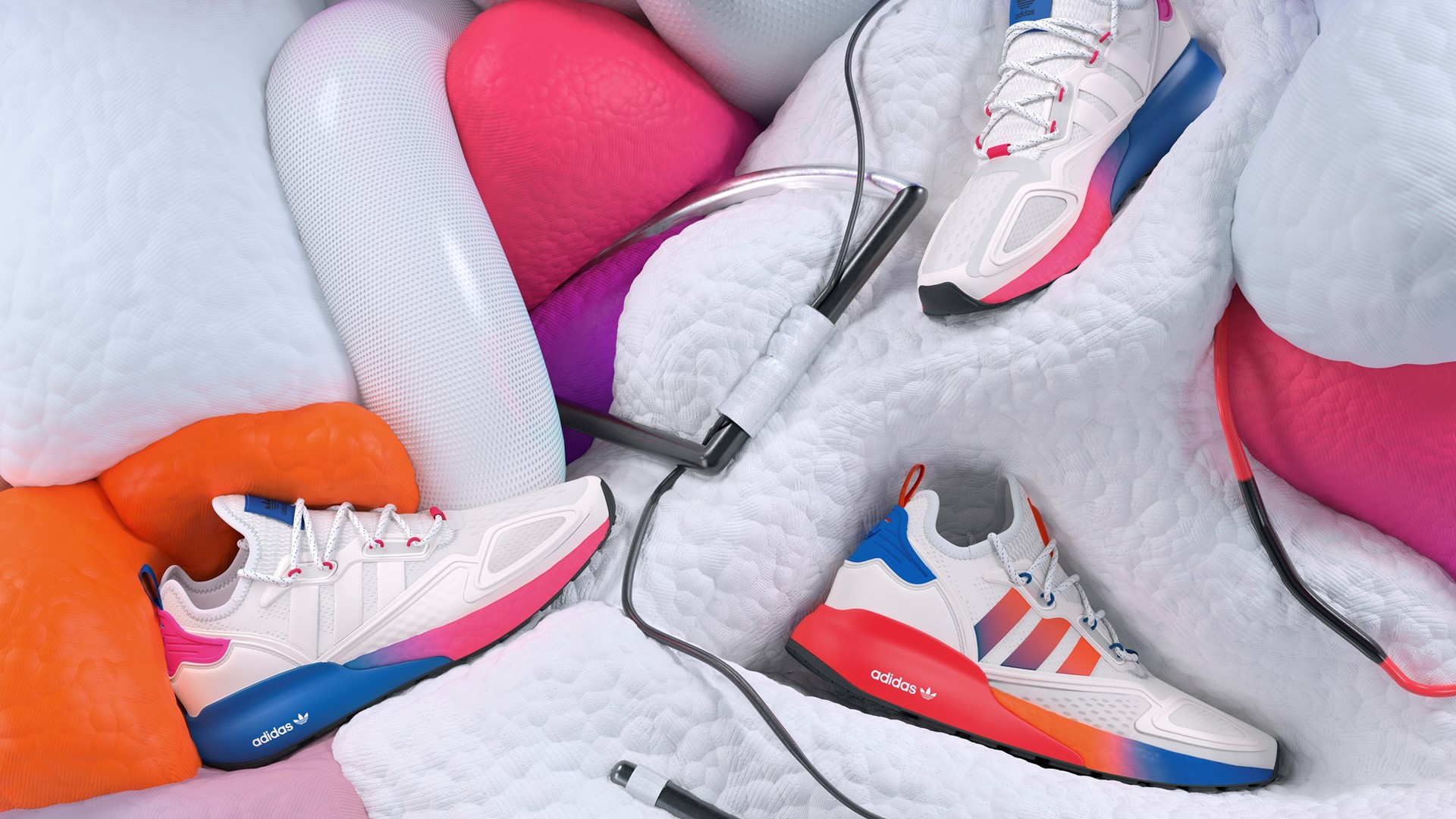 Launching Four New ZX 2K Sneakers for the Fall/Winter 2020 Collection