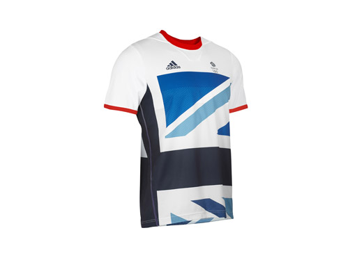 adidas Team GB ClimaCool Tennis Tee - Front