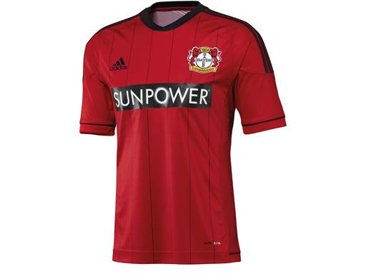 Das neue Leverkusener Heimtrikot von vorne