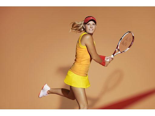 Caroline Wozniacki - Outfit for 2012 Roland Garros