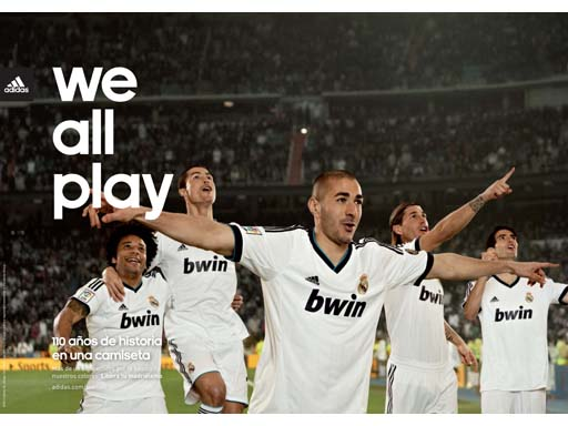 Real Madrid are all in