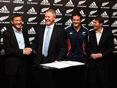 adidas extends All Blacks sponsorship until 2019