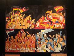 Own the moment: this painting of FIFA 2010 WORLD CUP ADIDAS 4 NATIONS 1 QUEST JULY 5
