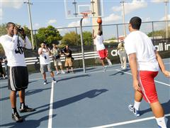 Dwight Howard and adidas Capture Orlando Kids' Game Faces at Local Community Center