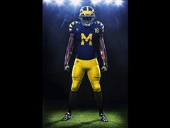 "adidas Unveils Michigan and Notre Dame Retro Football Uniforms for ""Under the Lights"" Game on September 10"