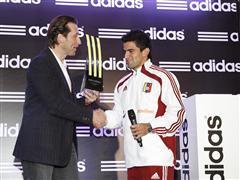 Presentación del Premio al mejor jugador adidas del torneo