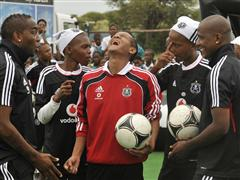 adidas and Orlando Pirates F.C. help make schoolboy's dream come true