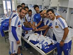 EURO 2012: Προπόνηση Εθνικής Ομάδας ποδοσφαίρου με το Σάκη Ρουβά