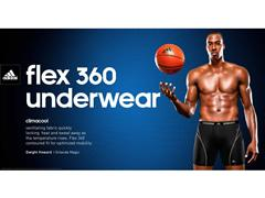 Dwight Howard Sports adidas Underwear in New Marketing Promotion