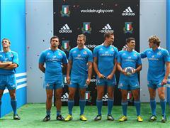adidas presenta le nuove divise della Federazione Italiana Rugby