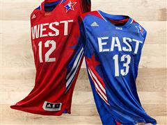 adidas and The NBA Unveil 2013 NBA All-Star Uniforms