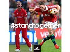 Lions and Ashes players stand together