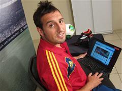 adidas presenta a Santi Cazorla en su campaña de fútbol durante COPA CONFEDERACIONES 2013