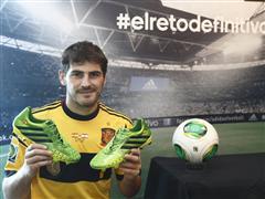 adidas presenta a Iker Casillas en su campaña de fútbol durante COPA CONFEDERACIONES 2013