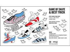 Game of Skate in AREA3 this July and August
