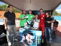 Четирима победители в играта на adidas ще пътуват до Германия