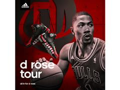Derrick Rose and adidas Tip-off D Rose Tour in Asia