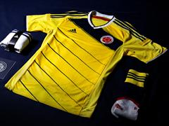 adidas Presents the Colombian Federation kit for 2014 FIFA World Cup Brazil