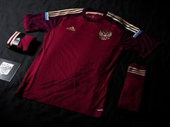 adidas presents new Russian national football team kit for FIFA World Cup 2014