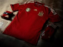 adidas present new Spain kit for FIFA World Cup 2014