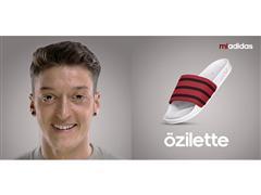 """Özil, Petkovic und Liquit Walker machen es vor: adilette wird zu """"deinelette"""""""