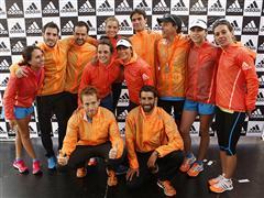 """Pareja chilena se adjudica la primera fecha de la """"Carrera de las Naciones"""" en el Maratón de Santiago 2014"""