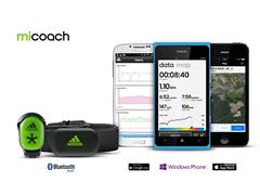 miCoach Train & Run Updated for Windows Phone 8.1
