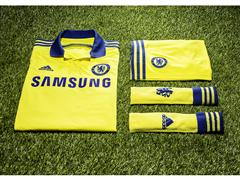adidas and Chelsea Football Club launch 2014/15 away shirt