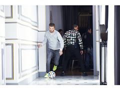 Global football stars come together for adidas 'house match'