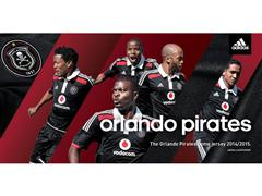 adidas Reveal The Official 2014/15 Orlando Pirates Football Club Home And Away Kit