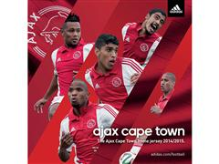 adidas reveal the 2014/15 Ajax Cape Town Football Club Home and Away kit