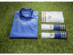 adidas homenageia origem italiana do Palmeiras em camisa do Centenário