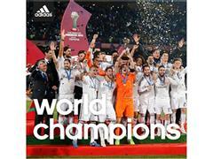 adidas felicita al Real Madrid por su victoria en el Mundial de Clubes