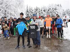 adidas и 5kmrun връчиха първата почетна тениска за 100 участия в иницативата