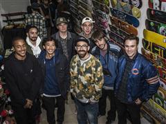 adidas Skateboarding: El equipo internacional de adidas Skateboarding en Barcelona