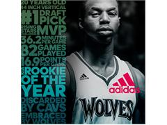Andrew Wiggins Crazylight Boost Rookie of the Year edition