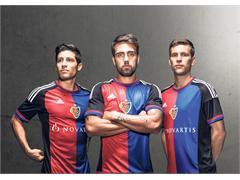 adidas und der FC Basel 1893 präsentieren neuen Heimdress