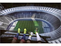 UCL Final Berlin Helicopter