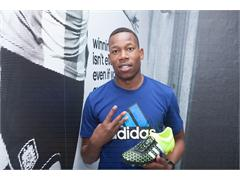 adidas SA Football Ambassadors Receive Boots #BEthedifference