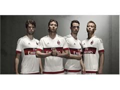 adidas and AC Milan present the Rossoneri away jersey for the 2015/16 season