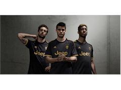 adidas e Juventus presentano la terza maglia dei bianconeri per la stagione 2015/16