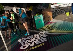 adidas награди участниците на Ekiden маратон