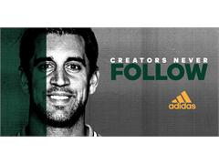 NFL MVP Aaron Rodgers Joins adidas