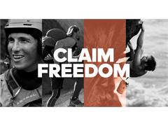 adidas Outdoor invites you to #claimfreedom