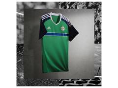 Northern Ireland reveal UEFA Euro 2016 Home Kit